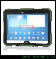Armor Case For Samsung Galaxy Tab 3 10 1 P3200 3in1 Shockproof Cover For Samsung Tab