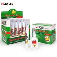 Large Capacity Quick Dry 12/24Pcs Correction Fluid Creative Correction Pen Error Corrector Tape School Stationery Supplies H6400