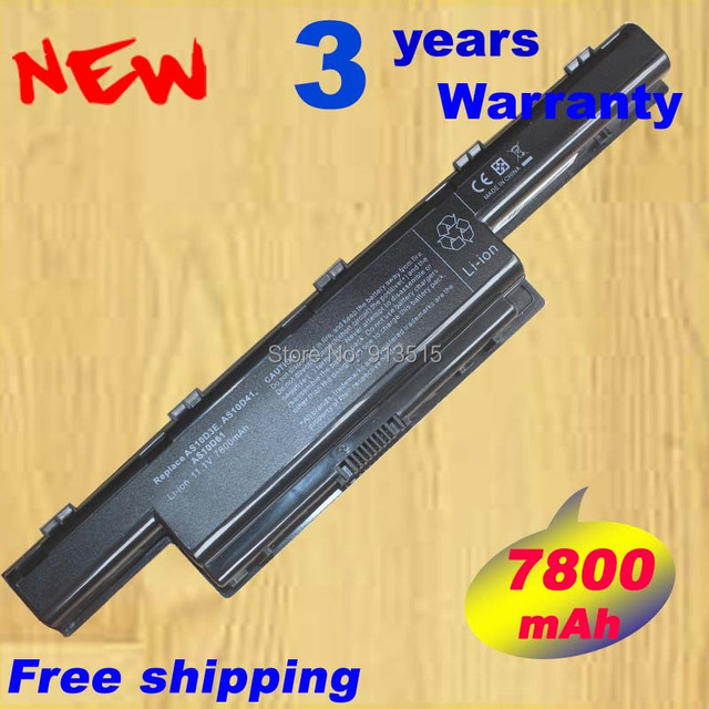 7800 mAh de la batería para Acer Aspire V3 5741 5742 5750 5551 G 5560 G 5741 G 5742 G 5750 G AS10D31 AS10D51 AS10D61 AS10D71 AS10D75 AS10D81