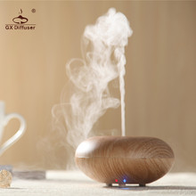 GX Diffuser Home Essential Oil LED Lamp 7 Changing Color Ultrasonic Humidifier Aroma Diffuser Aromatherapy Mist Maker Yoga SPA недорого