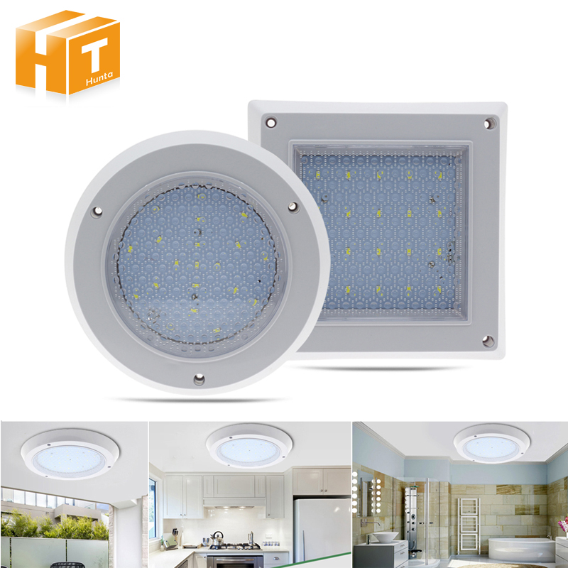 LED Ceiling Lamp Light Waterdrop 10W 18W 22W Surface Mounted Modern Indoor Lighting Square/Round Downlight
