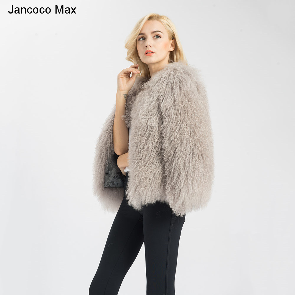 f213c4a5087 Jancoco Max Wholesale/ Retail 6 Colours Women 2019 Real Lamb Fur Jacket Or  Lady Winter Fashion Fur Coat S1591-in Real Fur from Women's Clothing
