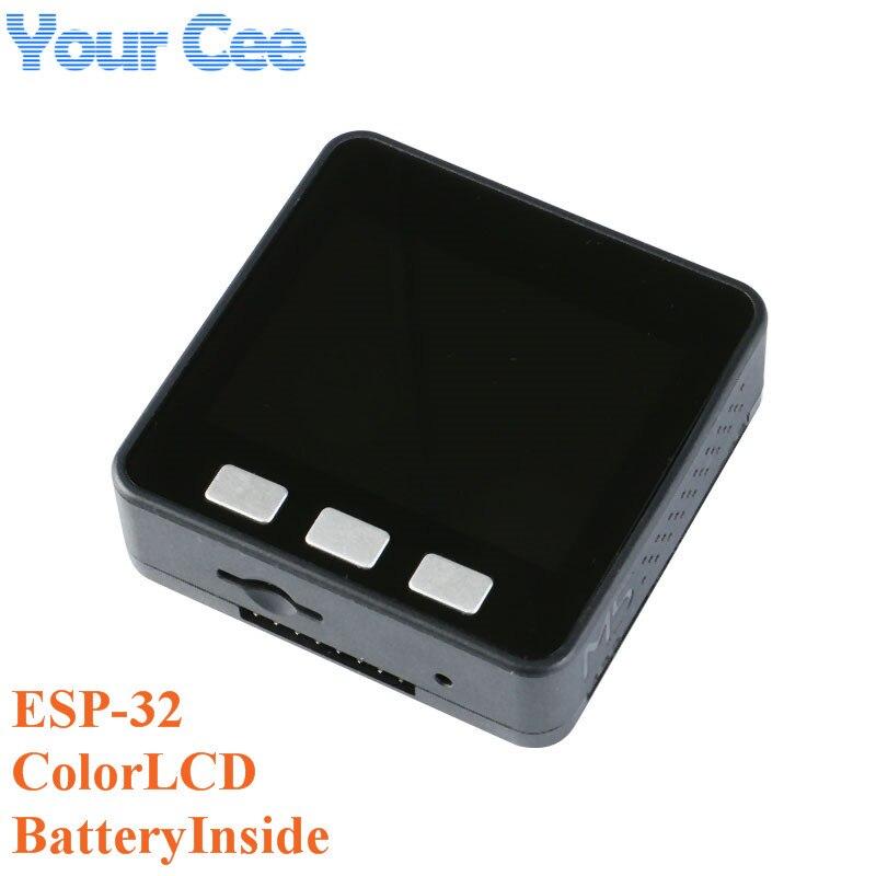 Kit de développement de base de la série M5Stack ESP32, Micro-commande Extensible, carte Prototype Wifi BLE IoT pour Arduino ZK15