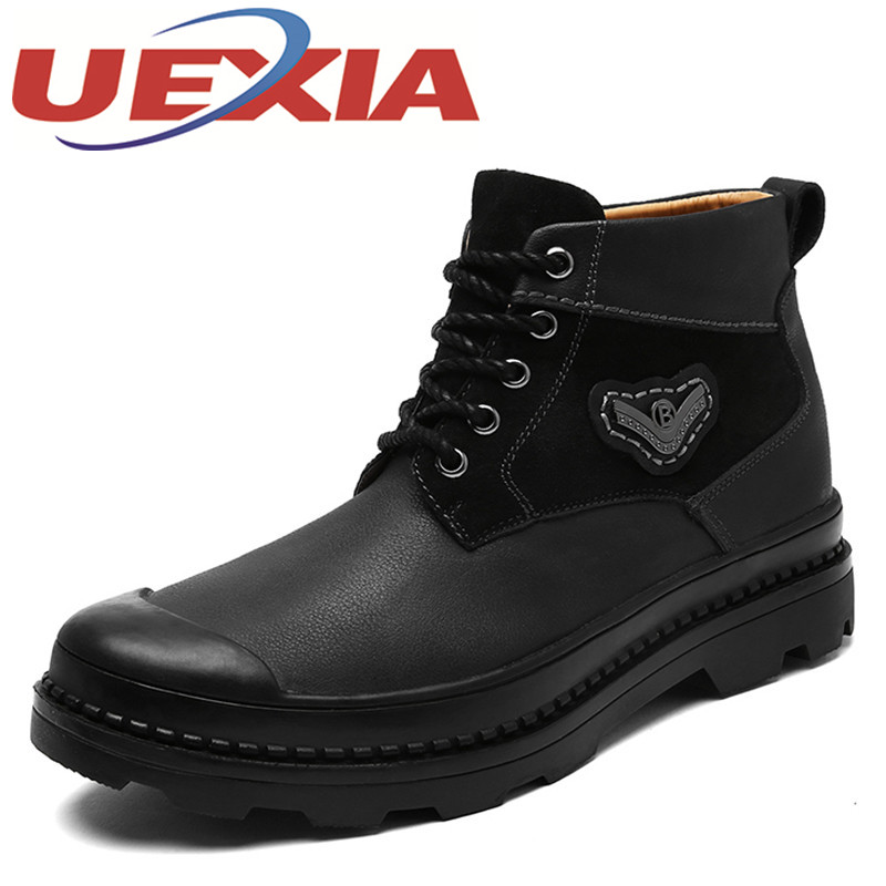 Mens Army Military Boots Outdoor Fashion High Top Work Boots For Men Ankle Boots Men Shoes Casual Martin Shoes Botas Masculina men ankle boots women casual shoes breathable fashion cushioning soles high top lovers outdoor shoes size 35 44 b2299