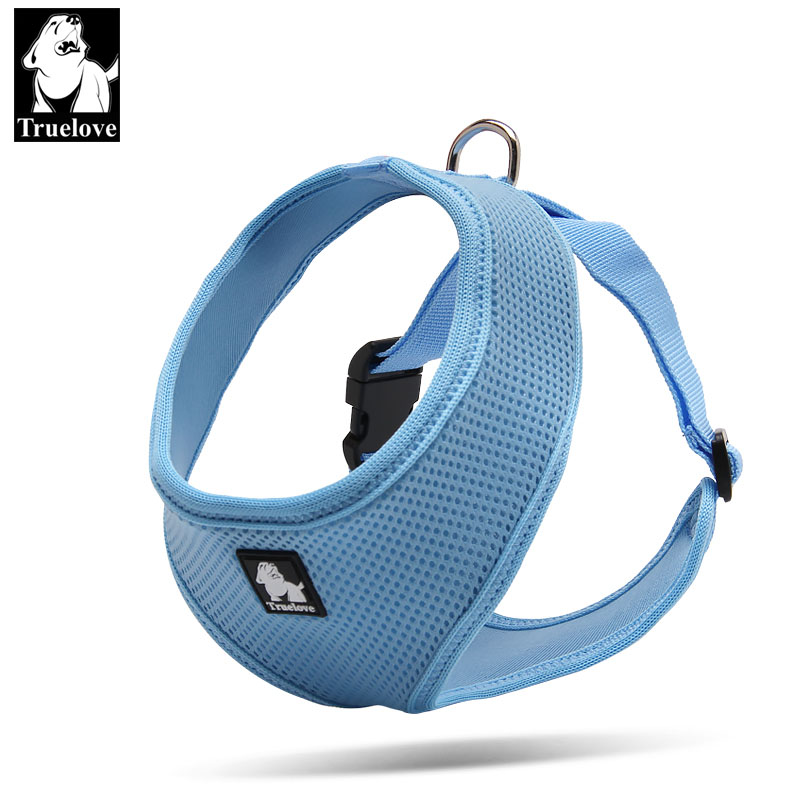 Truelove Puppy Cat Pet Dog Harness Breathable Mesh Nylon Dog Harness - Pet produkter - Foto 2