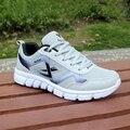 Moda homem sapatos adulto luz homem tênis respirável sapatos casuais tênis rendas até sapatos masculinos zapatos hombre mais tamanho