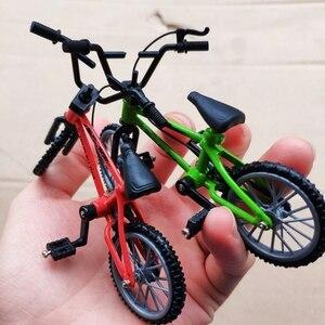 Мини пальчиковые игрушечные велосипеды BMX, модель BMX для велосипеда BMX, рама из сплава, игрушки BMX для взрослых, подарки для детей, миниатюрная...