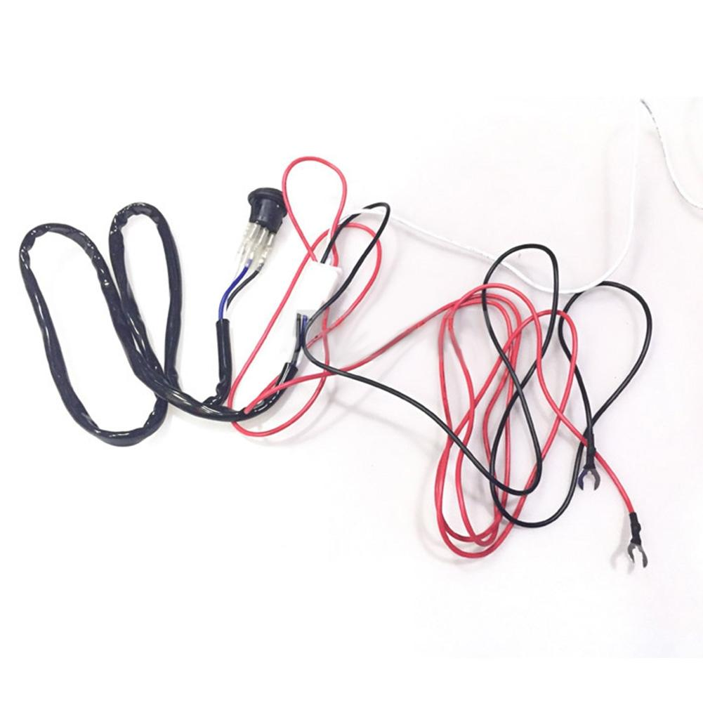 Beesclover 1 2 Off Road Atv Led Lights Bar Wiring Harness Kit For Universal Application Hid Fog Work R28 In Wire From Automobiles