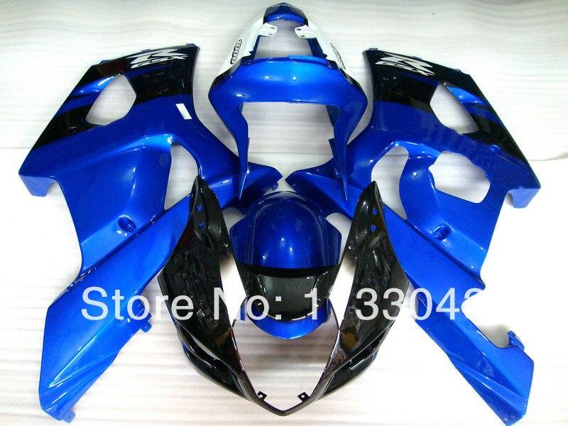 Для SUZUKI GSX-R1000 K3 03 04 синий Y4367 GSX R1000 K3 GSXR 1000 2003 2004 GSXR1000 обтекатель комплект