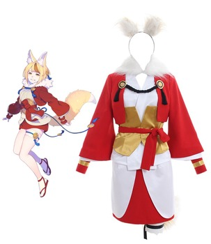 Fire Emblem Fates Selkie Cosplay Costume Full Set with Tail Custom Made Any Size