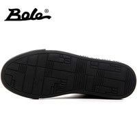 BOLE New Design Sequin Men Casual Shoes Rubber Sole Men Non-slip Lace Up Sneakers Waterproof Flat Shoes Gold Blue Sliver Black 1