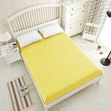 15 однотонных цветов с покрывалом на резинке простыня King кровать застежки для простыни ding, постельное белье, наматрасник белый серый черный желтый