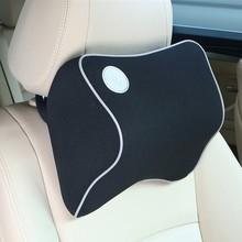 New Space Cotton Memory Car Seat Pillow Cushion Headrest Neck Auto Supplies Safety