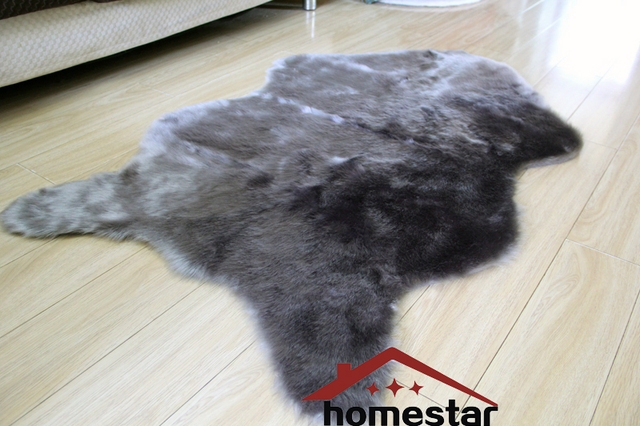 Animal Skin Chair Covers Gaming Recliner Luxury Shaggy Carpet Rug Faux Fur Sheepskin Floor Mat Soft Fluffy Pile Bed Spread Plush Cover Seat Pad