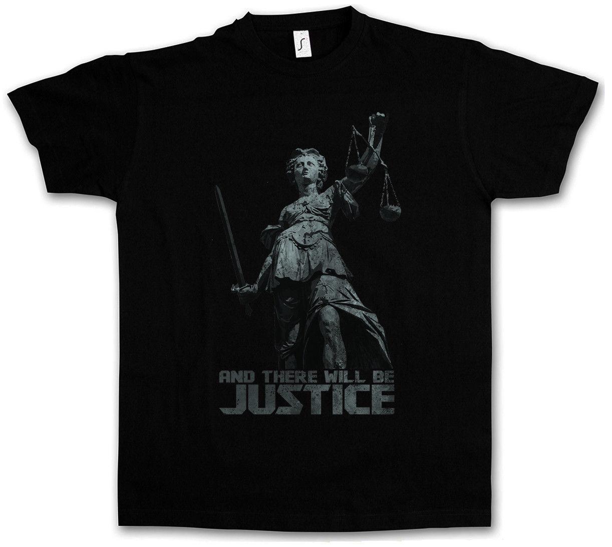 2019 JUSTITIA I T-SHIRT Justice Law Lawyer Judge Libra Goddess