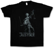 And There Will Be Justice T-shirt