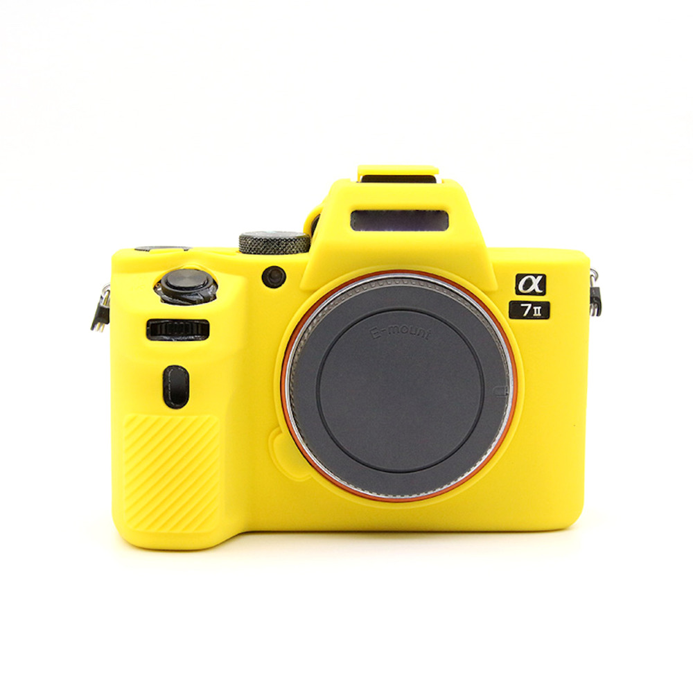 New Soft Silicone Camera Case For Sony A7 Ii A7ii A7r Mark 2 Rubber Protective Body Cover Case Skin Camera/video Bags