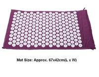 Size Appro 67 42cm Acupuncture Massage Cushion Acupressure Acupuncture Mat Yoga Mata XK09