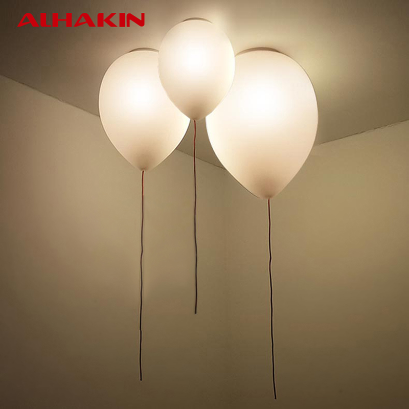 Alhakin Designer Ceiling Light 32 25cm Ballon Lamp Led Bulb Children S Bedroom Fixtures Modern Decoration