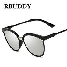 RBUDDY 2017 Sunglasses Fashion Women Black Frame Top Luxury Brand Cat eye Retro Style Sun glasses Female oculos de sol feminino