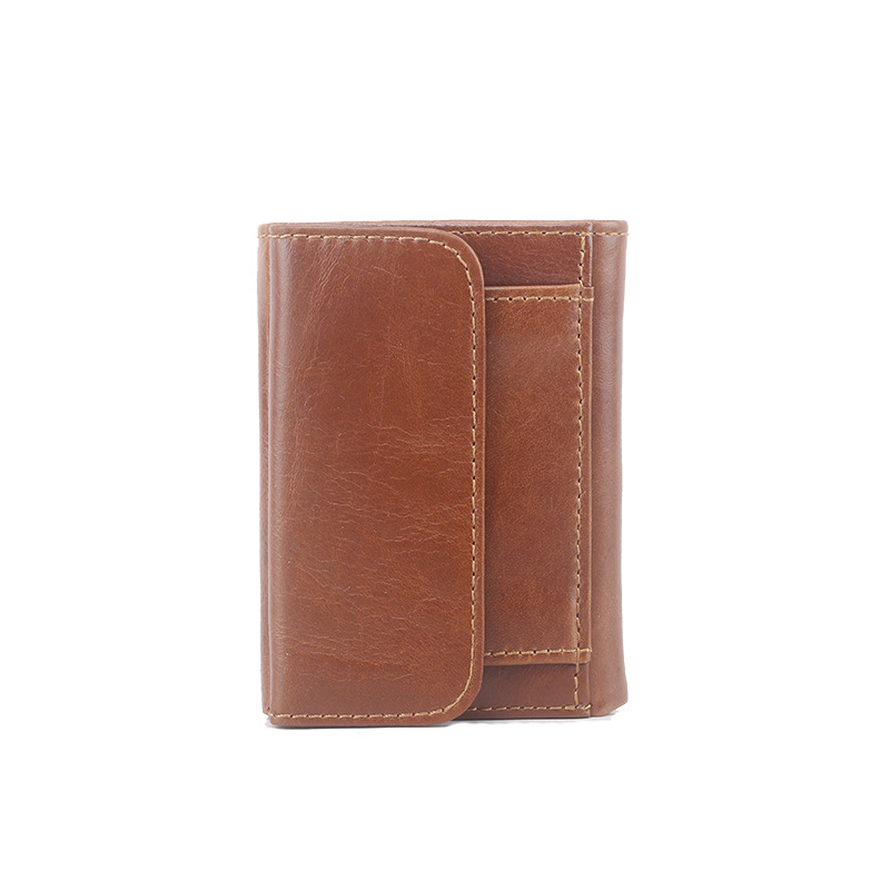 HOT!!! Genuine Crazy Horse Cowhide Leather Men Wallet Short Coin Purse Small Vintage Wallet Brand High Quality Vintage Designer 2017 genuine cowhide leather brand women wallet short design lady small coin purse mini clutch cartera high quality