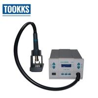 Original Quick 861DW Hot Air Soldering Rework station Lead free Soldering Machine For Phone Chips Computer Motherboard Repair