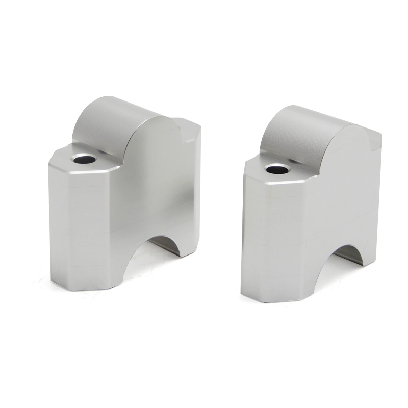 """Image 3 - KEMiMOTO 1 pair 2 Inch Handlebar Mount Clamp High Lifter Riser for INTRUDER M1800R 2"""" Silver For Suzuki Boulevard M109R-in Handlebar from Automobiles & Motorcycles"""