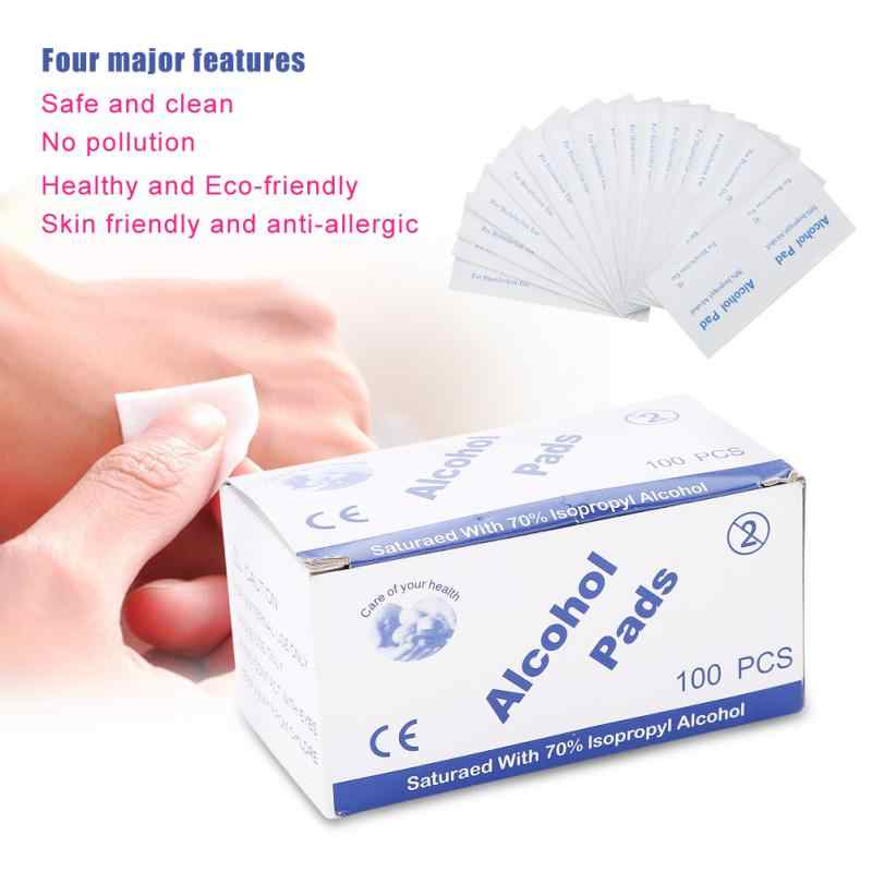 Detail Feedback Questions about Portable 100pcs/bag Alcohol Swabs