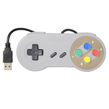 Controlador para Super Nintendo SNES Famicom Retro Jogo Gaming USB Joypad Gamepad para WINDOWS98/2000/ME/XP MAC os. XV10.2.8