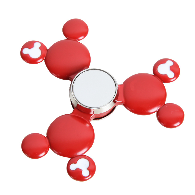 2017 New Metal Kirsite EDC Hand Spinner For Autism And ADHD Fidget spinner Rotation Time Long Spinning Top Anti Stress Toys fidget hand spinner brass metal edc finger spinner anti stress hand spinner for autism adhd toys gift spinning top