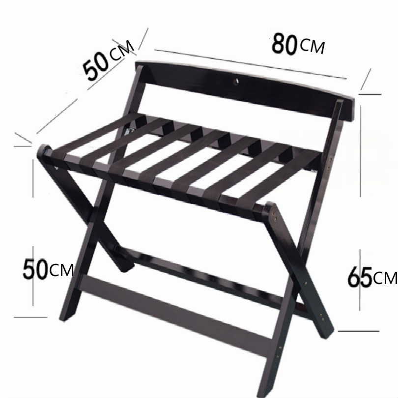 Hotel Wood Luggage Holder Luggage Bracket Luggage Rack Folding Free Shipping