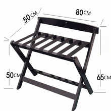 цена на hotel wood luggage holder luggage bracket luggage rack folding free shipping