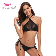 Pocket-Girl-2018-Slim-Sexy-Bikini-Women-Mesh-Swimwear-Cross-Bandage-Swimsuits-Push-Up-Beach-Bathing