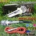 5-Year гарантии проводной профессиональный динамический микрофон система вокальный микрофон Microfono для DJ KTV караоке микрофон с 5-Meter кабель