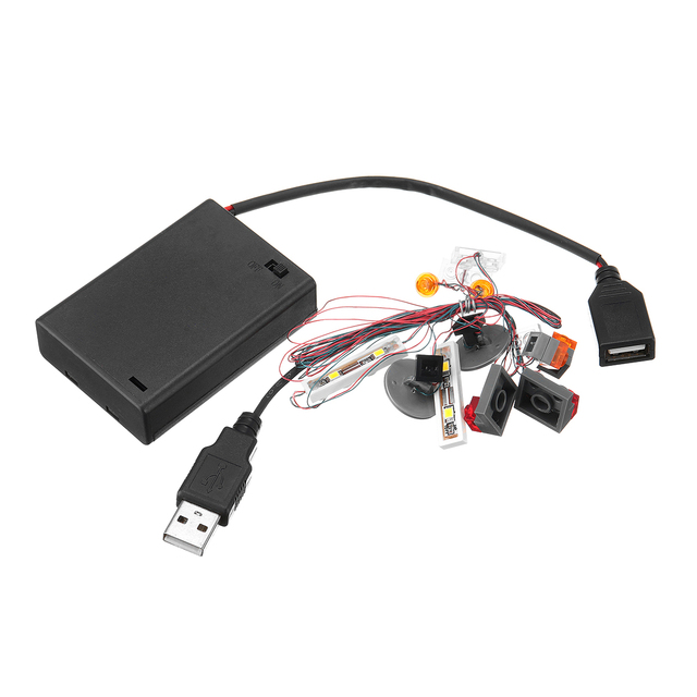 DIY LED Licht Beleuchtung Kit NUR Für 10252 Für Volkswagen Modell Leucht Elektronische Teile Kit