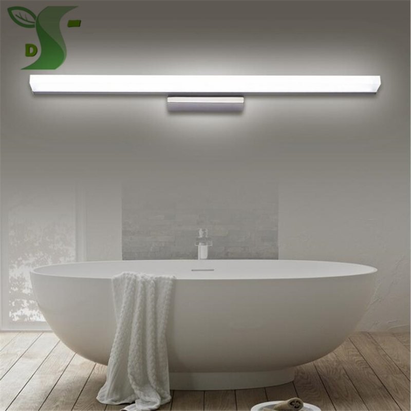 LED Mirror Light SMD2835 Style White Wall Lamps Stainless Steel Modern Makeup Mirror Lig ...