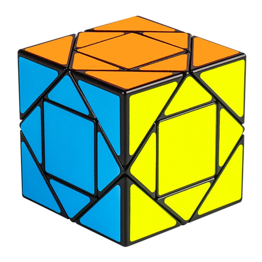 Surwish MF8847 Mofang Jiaoshi Pandora Magic Cube Educational Toys For Brain Trainning - Black