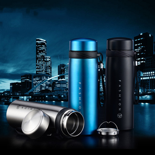 New 650ml Stainless Steel Vacuum Cup Flask Water Bottle Thermos Coffee Cup Travel Mug stainless steel insulated vacuum mug silver 350ml