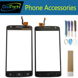 1PC/Lot High Quality 5.0Inch For Dexp Ixion ML150 Touch Screen Digitizer Touch Panel Lens Glass With Tool&Tape Black Color