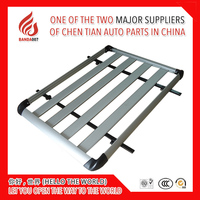 Universal Aluminium alloy roof rack Luggage Carrier Basket For SUV Car Luggage Rack 130*90 140*90 160*90 cm ect