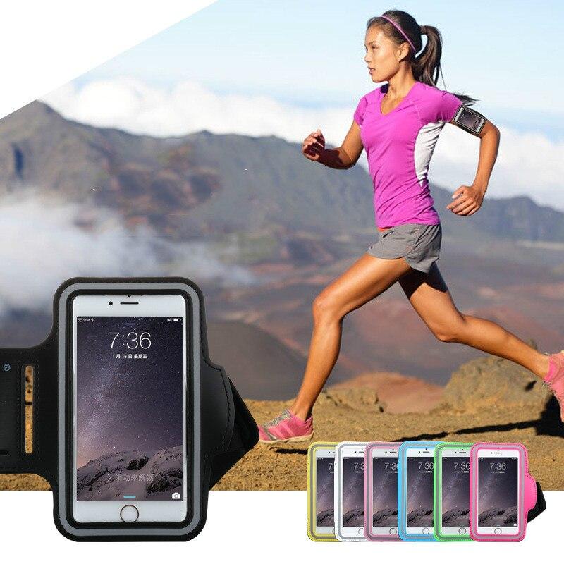 Teléfono arm band case para iphone se 6 s 7 plus g530 a3 a5 A7 2017 S5 S6 S7 Bor