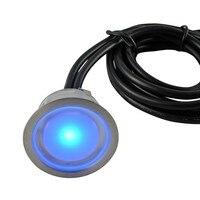 IP67 светодиодные оригинальные светильники 40 мм открытый свет палубе 12В набор: 30 шт. 0.4 вт огни и 1 шт. 30 вт и трансформатор 1 шт. фотоэлемент