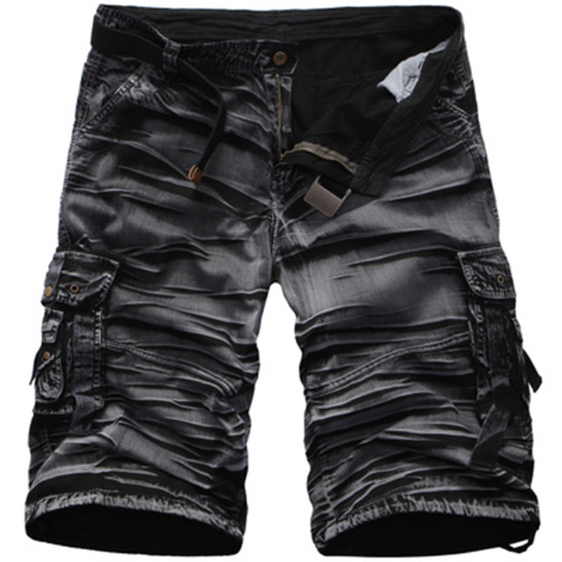 Mens Military Cargo Shorts 2017 Brand New Army Camouflage Shorts Men Cotton Loose Work Casual Short Pants