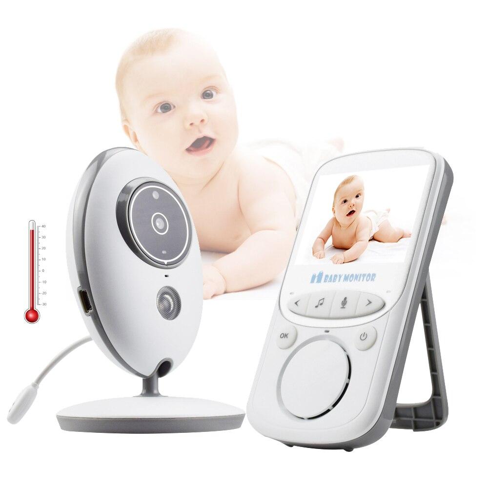 Witrue moniteur bébé VB605 2.4 pouces LCD Vision nocturne Audio musique bébé caméra surveillance de la température babysitter vidéo nounou