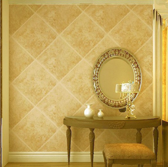 3d wallpaper rolls PVC wallpaper for walls diamond imitation marble ...