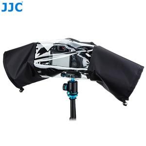 Image 2 - Jjc كاميرا 150x112x75 ملليمتر أسود التمويه الرمادي حامي eos slr صغير للماء غطاء المطر لنيكون d90 caono 7d