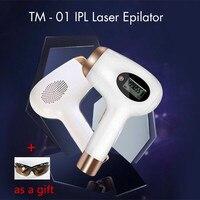TM 01 Handheld Painless IPL Laser Hair Removal Instrument Epilator with High Quality Glass Tube Permanent Bikini Trimmer