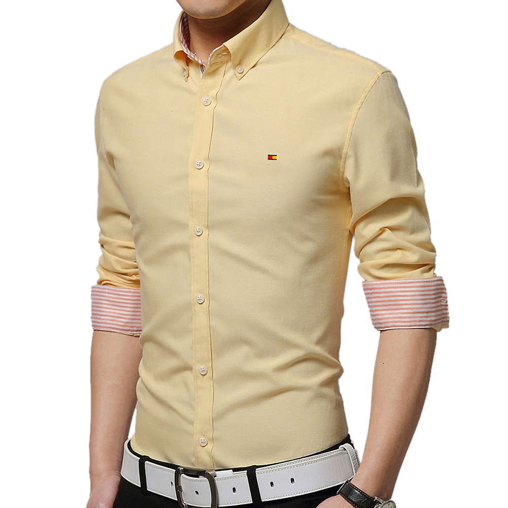 Compare Prices on Yellow Shirt Mens- Online Shopping/Buy Low Price ...