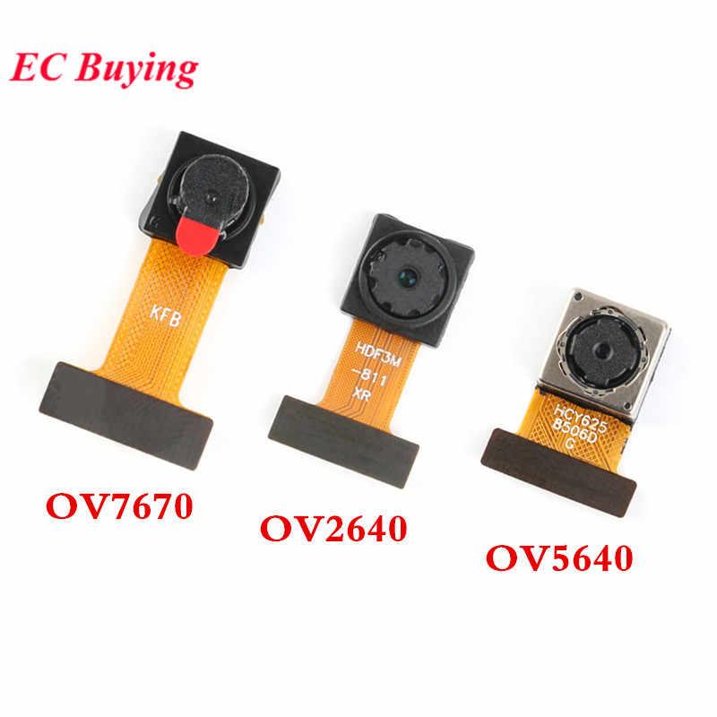 OV7670 OV2640 OV5640 Módulo de cámara Mini Sensor de OV5640-AF módulo 300.000 2 millones de 500W píxeles DIY Cámara Auto Zoom