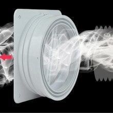 inner diameter 15-18cm Bathroom ventilation kitchen wall cap PVC Pipe Fittings Smoke evacuation pipe fitting